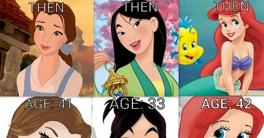 Ever imagined how Disney princesses would look like in ...